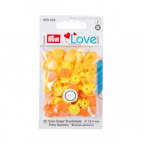 Prym Love Color Snaps rund 12,4 mm