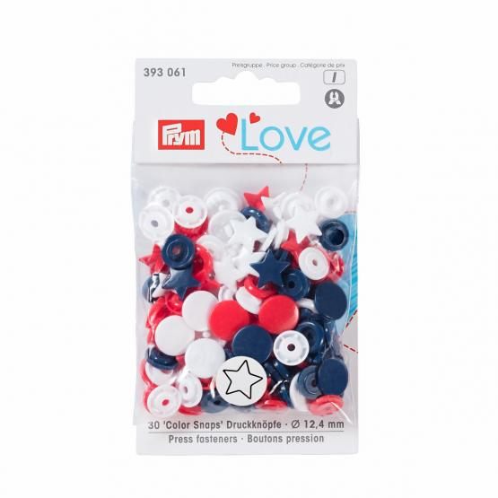 Prym Love Color Snaps rund 12,4 mm