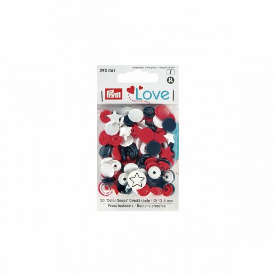 Prym Love Color Snaps Stern 12,4 mm