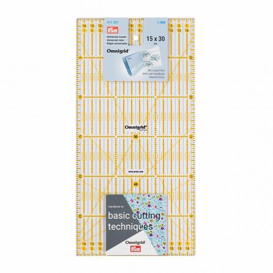 Prym Universal-Lineal 15 x 30 cm Omnigrid