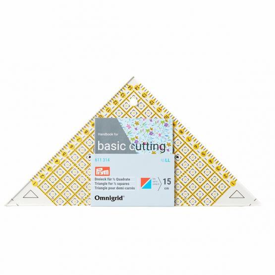 Prym Flottes Dreieck 1/2 Quadrat cm Omnigrid