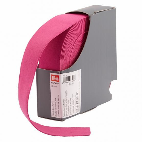 Prym Elastic-Bund 38 mm pink