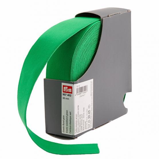 Prym Elastic-Bund 38 mm gruen