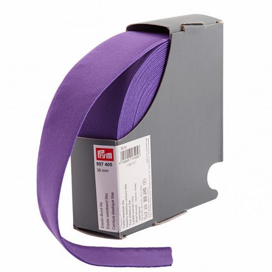 Prym Elastic-Bund 38 mm lila