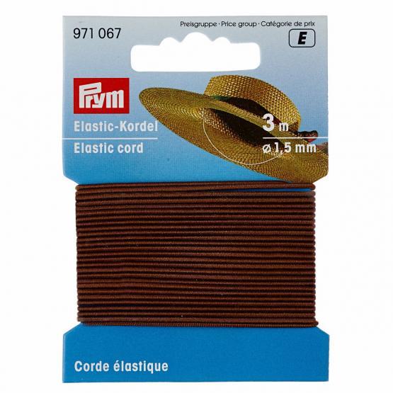 Prym Elastic-Kordel 1,5 mm braun