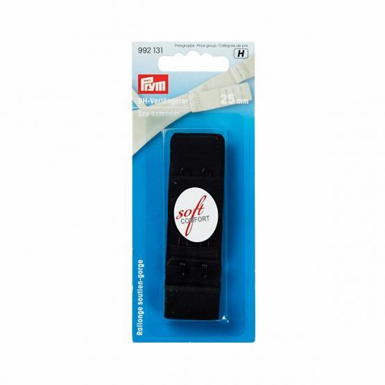 Prym BH-Verlaengerer 3 x 2 Haken 25 mm schwarz