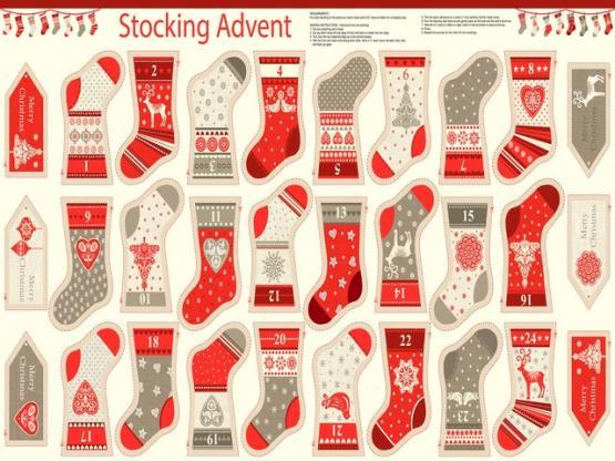 Scandi Mini Advent Kalender