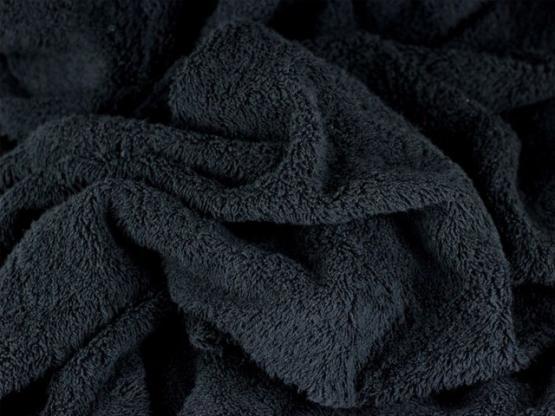 Irmel Frottee Farbe schwarz