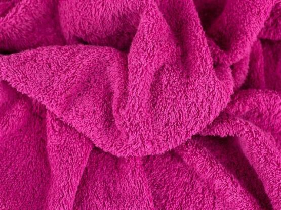 Irmel Frottee Farbe pink