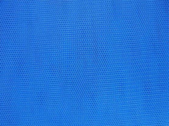 Wabentüll Farbe blau