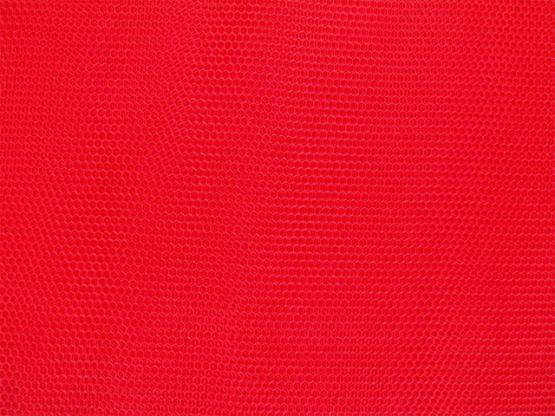 Wabentüll Farbe rot