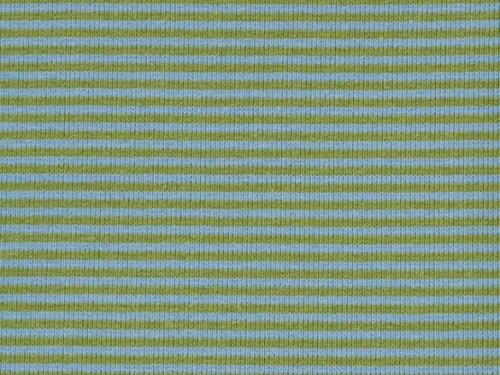 Ringelbündchen hellblau/kiwi