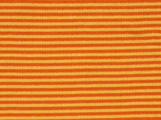 Ringelbündchen gelb/orange