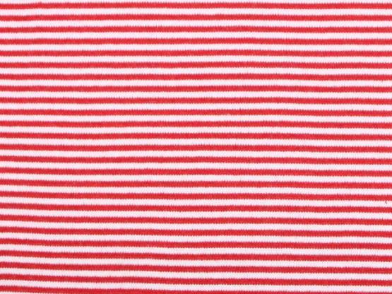 Ringelbündchen rot/weiss