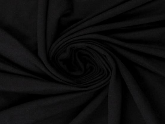 Ginza Viskosejersey schwarz