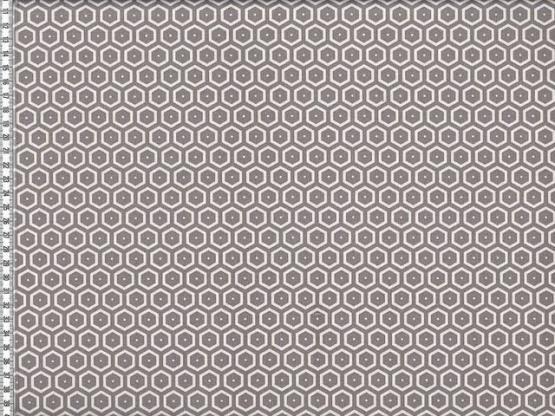 Leona beschichtet Hexagone grau