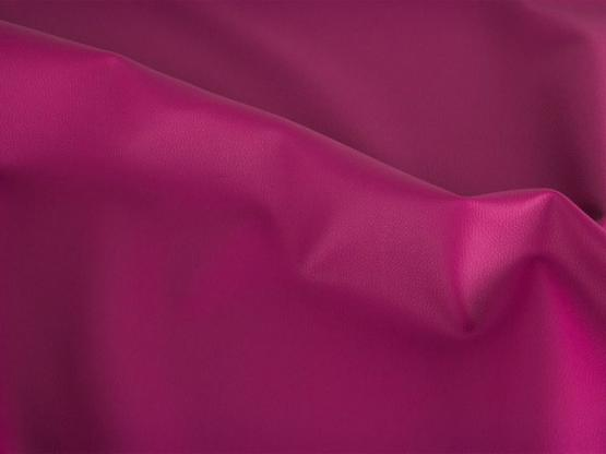 Lederimitat Rex metallic pink