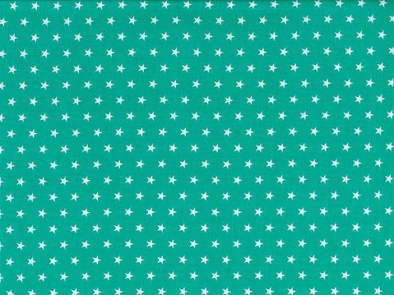 Baumwolle Sterne grün