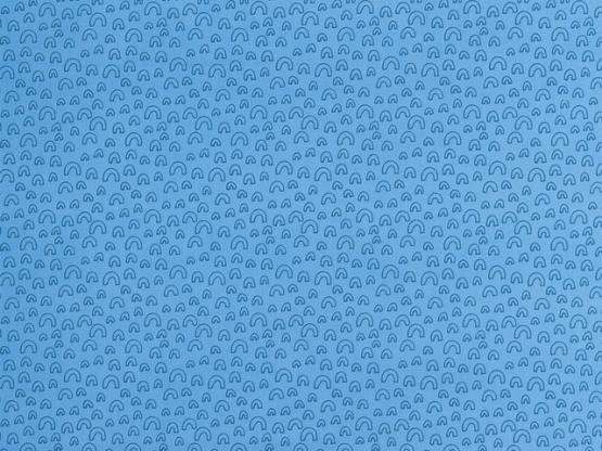 Baumwolle Philipp blau Kringel