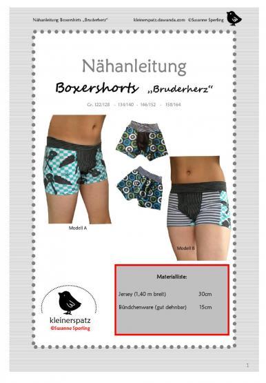 Boxershorts Gr. 122/128 - 158/164
