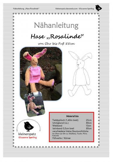 Häsin Rosalinde Gr. 55cm
