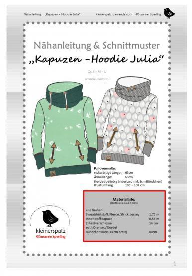 Hoodie Julia S - L