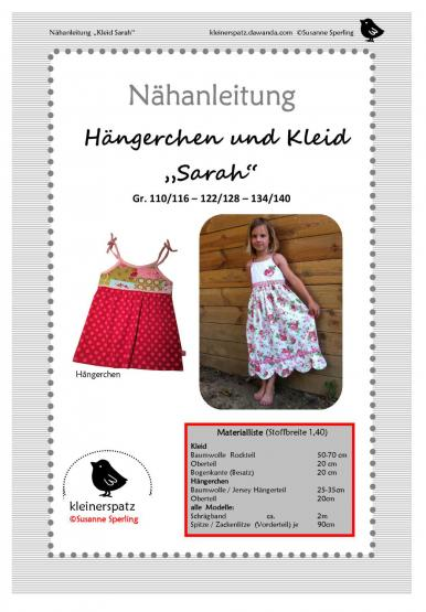 Kleid Sarah Gr. 110/116 - 134/140