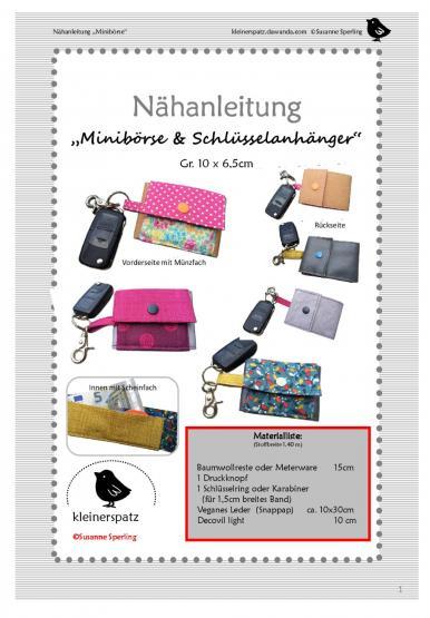 Minibörse/Schlüsselanhänger