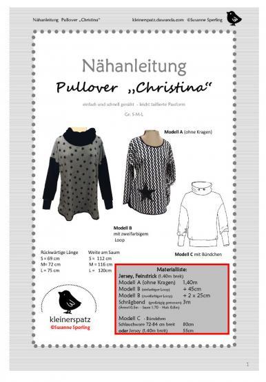 Pullover Christina Gr. S - L