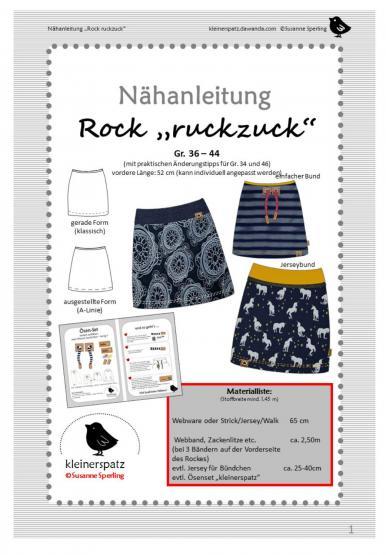 Rock Ruckzuck Gr. 36 - 44