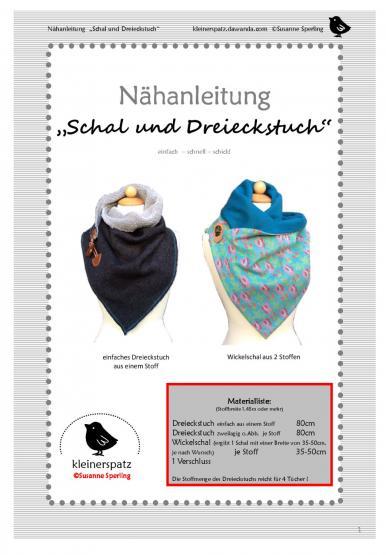 Schal und Dreieckstuch