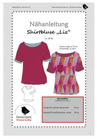 Shirtbluse Liz Gr. 38 - 44