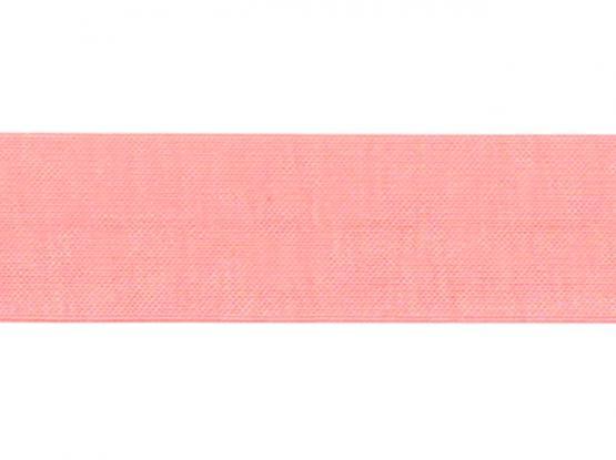 Jerseyband gefalzt 20/40mm rosa