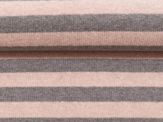 Lenn Strick grau/rosa