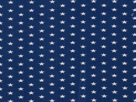 Baumwolle Sterne dunkelblau
