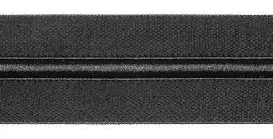 Bund-Gummi/Kordelzug 50mm schwarz