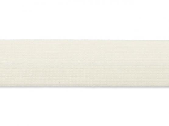 Jerseyband gefalzt 20/40mm natur