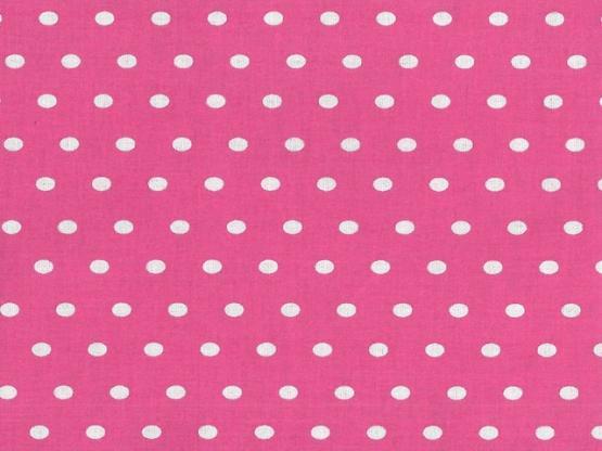 Leona beschichtet Tupfen pink