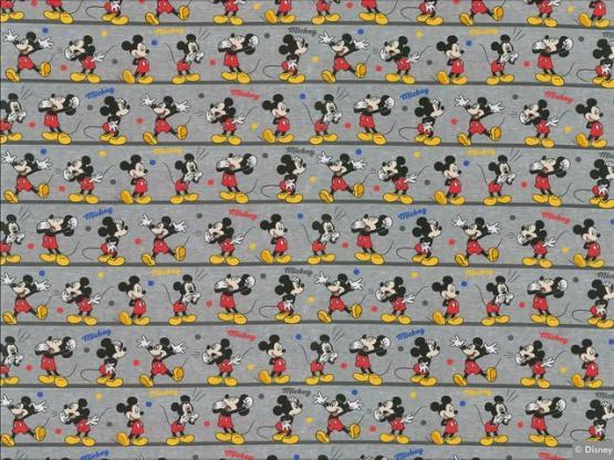 Disney Jersey Mickey grau meliert