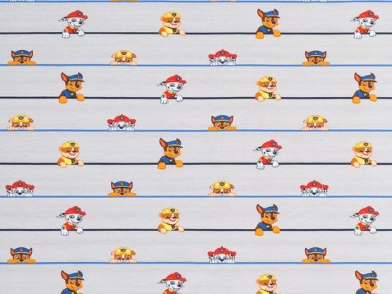 Paw Patrol Jersey grau Hunde/Linien