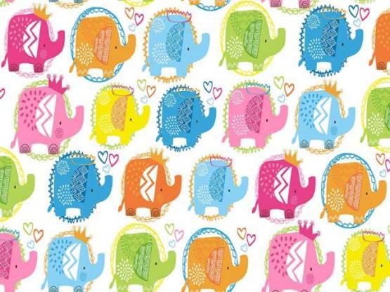 Ellie Elephants pink