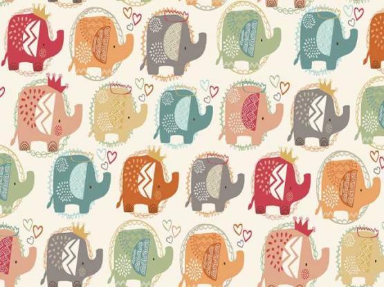 Ellie Elephants turquoise