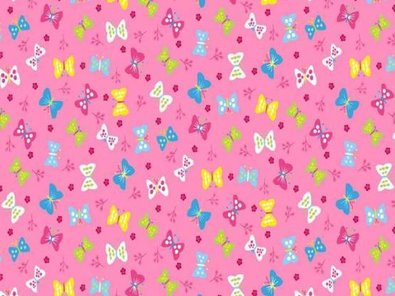 Ellie Butterflies pink