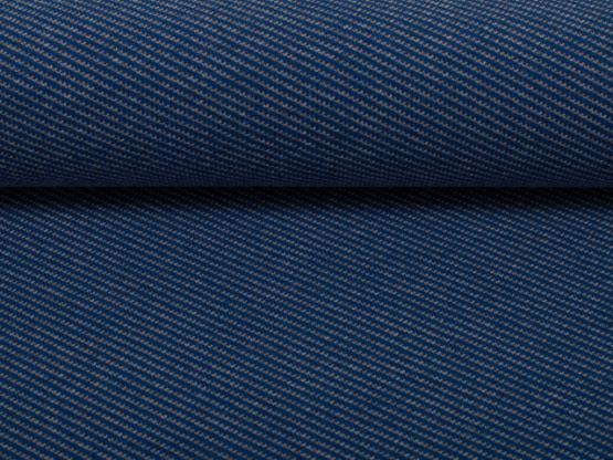 Dirk Jacquard Jersey grau/dunkelblau