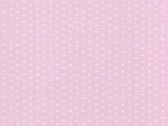 Baumwolle Sterne rosa