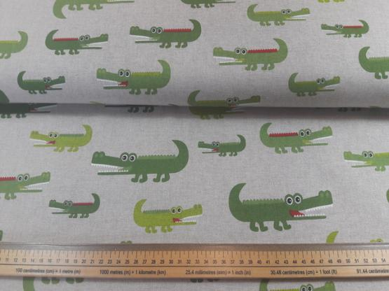 Deko/Taschen Krokodile