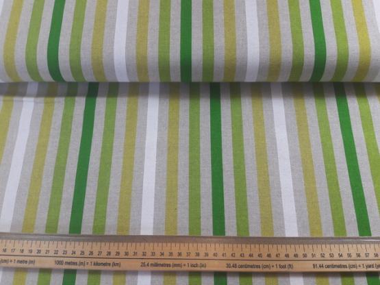 Deko/Taschen Streifen grün