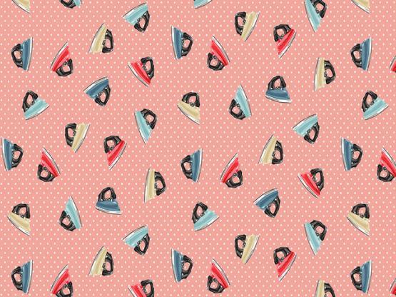 Stitch it irons pink