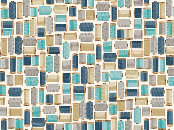 Stitch it cotton reels blue