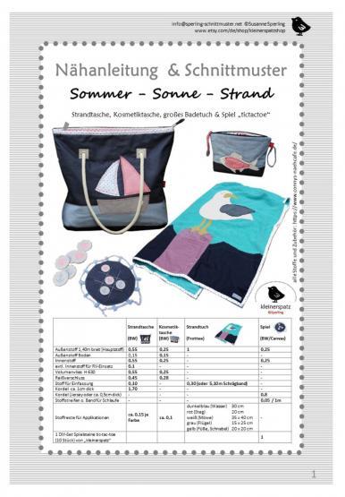 Sommer-Sonne-Strand
